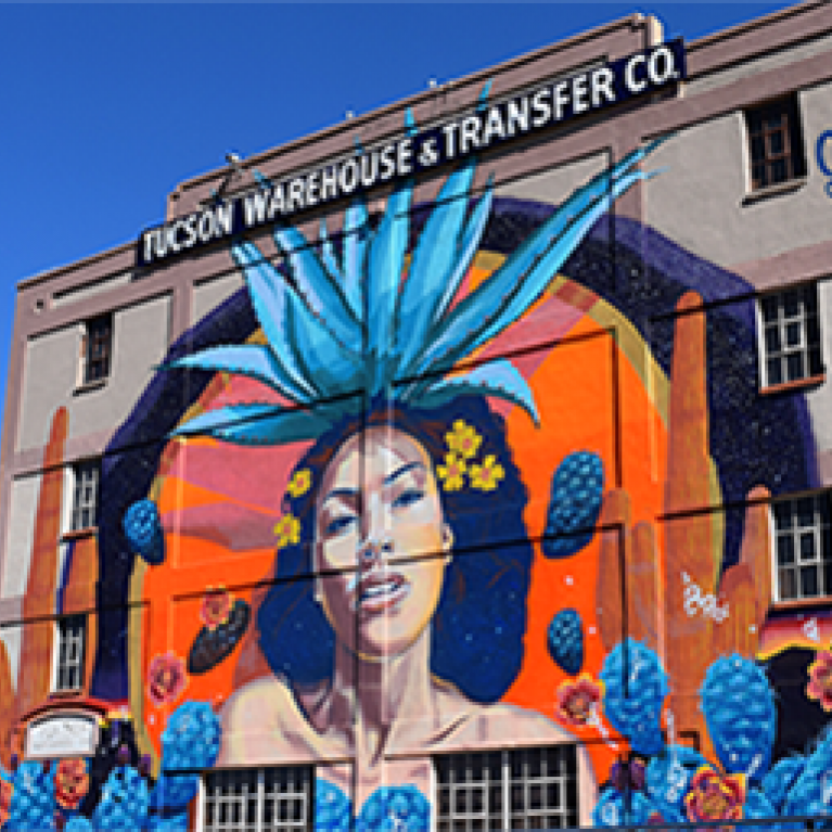 Mural in downtown Tucson